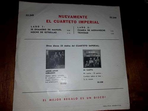 nuevamente el cuarteto imperial single.-