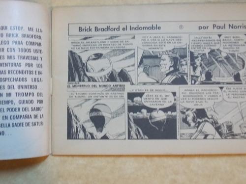 nuevas aventuras de brick bradford, nº 1, 1980, argentina