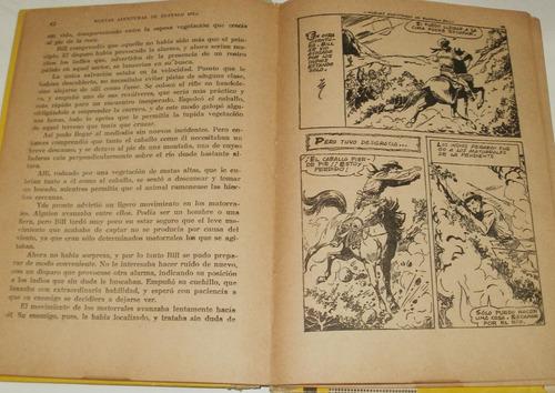nuevas aventuras de buffalo bill - antiguo libro