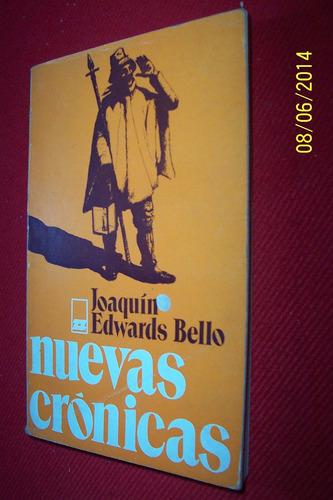 nuevas cronicas -joaquin edwards bello