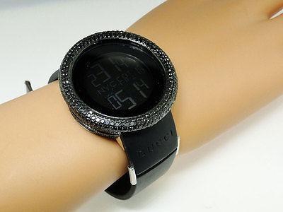 cf08c0dcf7c Nuevas Damas Yo Gucci Reloj Digital White Diamond 9 Ct... -   2.383 ...