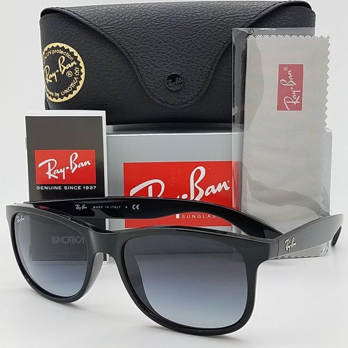 c0a7a0f19 Nuevas Gafas De Sol Rayban Andy Rb4202 601 / 8g 55 Mm Negro ...