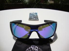 Negra Lente Nuevas Mate Gafas Iridium Oakley Batwolf Violet UzGqSMVp