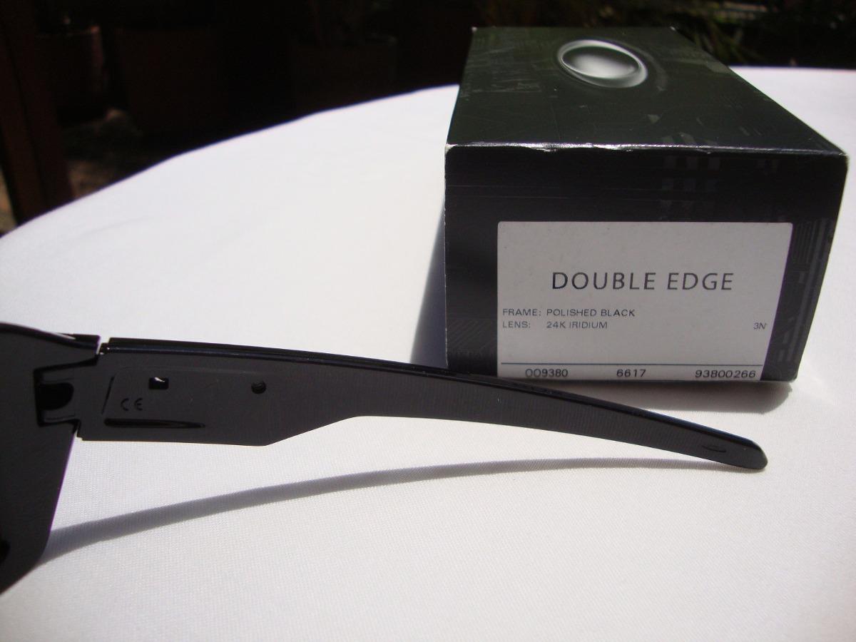 cb4cdc906b Nuevas Gafas Oakley Double Edge Negra Lente 24k Iridium -   359.900 ...