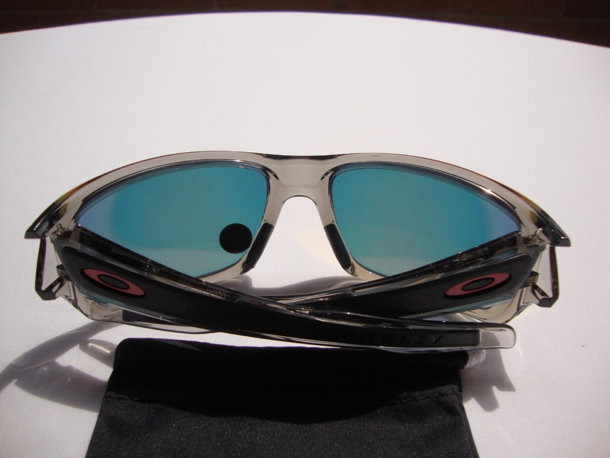 4cea85b308 nuevas gafas oakley turbine grey smoke polarizada ruby iridi. Cargando zoom.