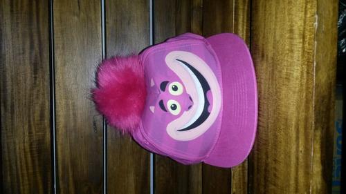 nuevas gorras planas disney originales con pompom