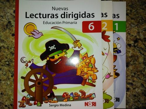 nuevas lecturas dirigidas  1er 2do 6to grado nori