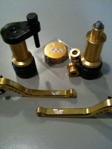 nuevas palancas clutch y freno para moto