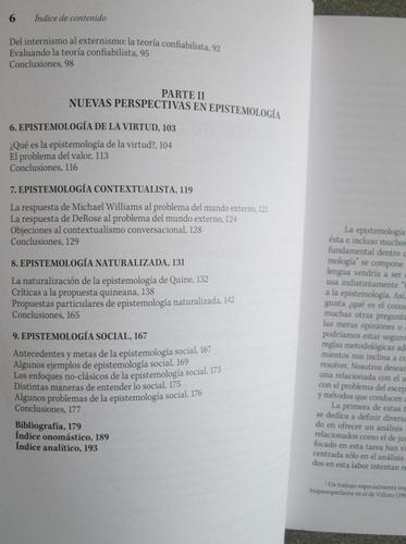 nuevas perspectivas en epistemología contemporánea - trillas
