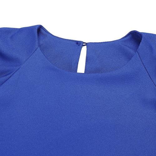91ab06b61cf8 Nuevas Tapas Para Mujer Moda 2018 Mujer Verano Gasa Blusa Má