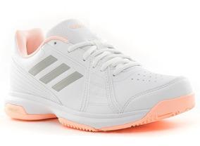 Nuevas Zapatillas adidas Aspire Approach Para Mujer De Tenis Y Padel Blanca  Con Rosa Bb7650