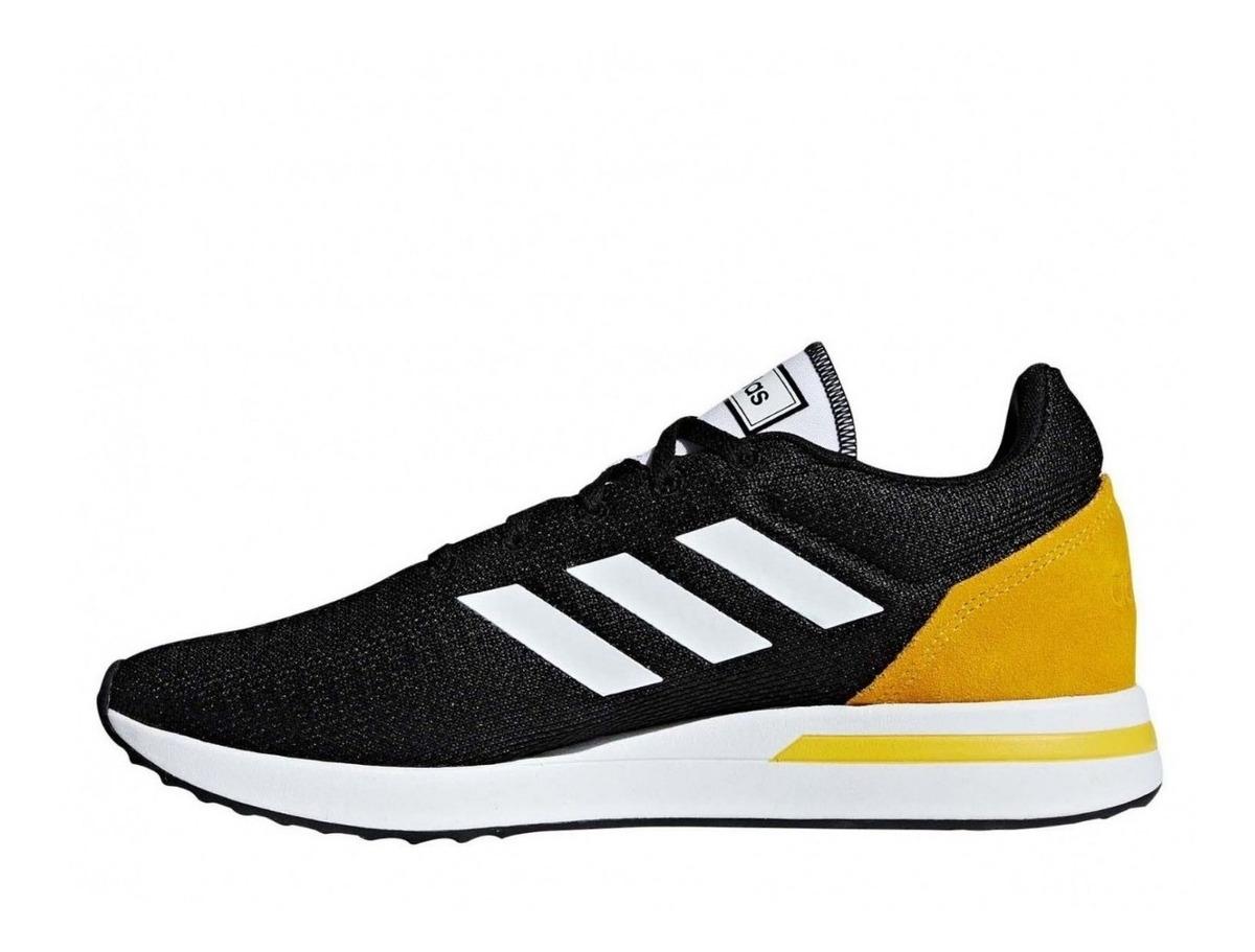 Nuevas Zapatillas Adidas de Moda Run70s Negras de Hombre