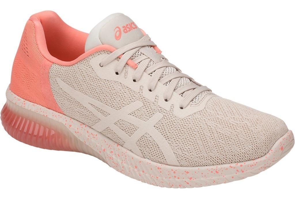 Mujer Rosa Beige Running Zapatillas Nuevas Asics Gel Kenun POXZkiuwT