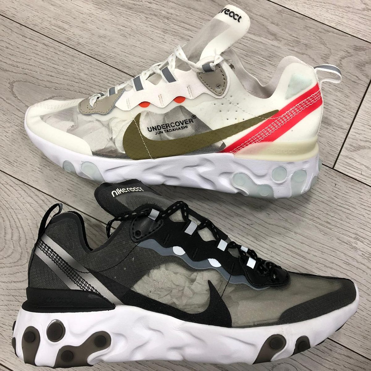 Nuevas Zapatillas Nike React Undercover - Hombre - 2019 -new