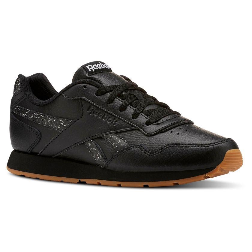 00cbdfb5e4 nuevas zapatillas reebok classic royal glide negras de mujer. Cargando zoom.
