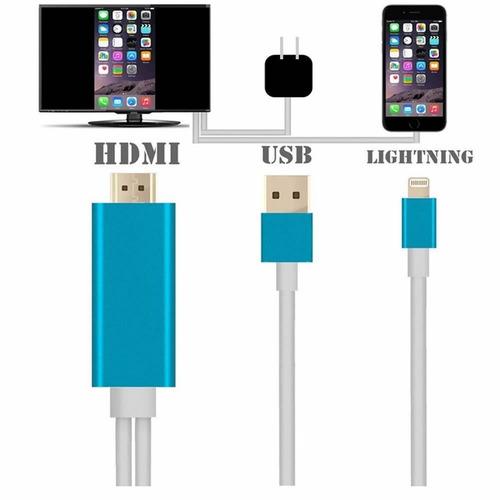 nuevo 8 pin a av hdmi/hdtv tv cable adaptador para apple