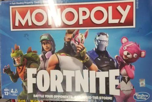 Nuevo A Mano Juego De Mesa Fortnite Monopoly 175 666 En Mercado