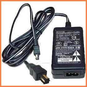 nuevo adaptador de corriente ac-ls5b camara sony dsc-v1