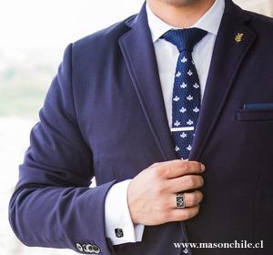 nuevo anillo masónico acero - masón rosacruz exclusivo