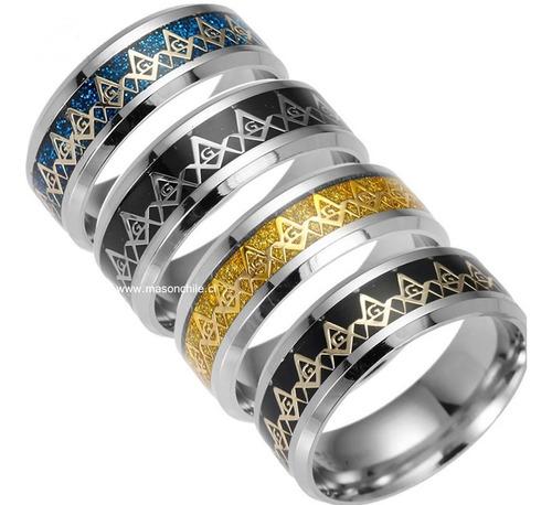 nuevo anillo masónico - catena calipso - , masón,  premium
