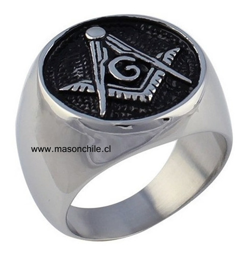 nuevo anillo masónico - v:. m:. -   templario rosacruz masón