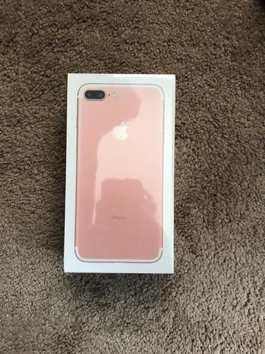 nuevo apple iphone 7 más 256gb de oro rosado desbloqueado en