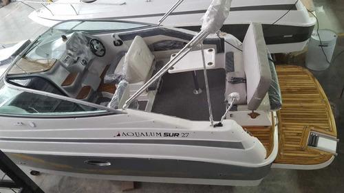 nuevo! aqualum sur 27, crucero, cuddy grande, daycrusier