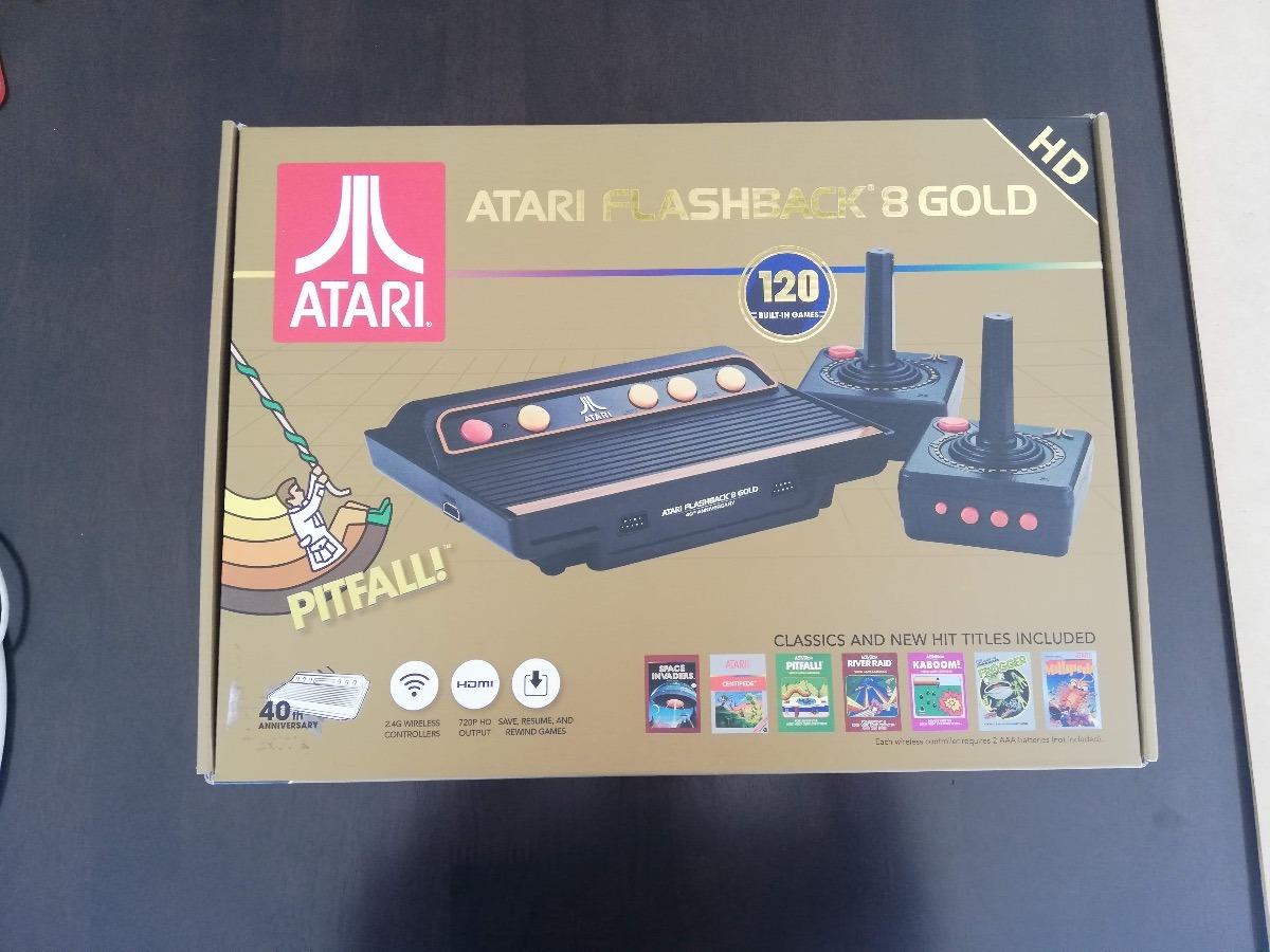Nuevo Atari Flashback 8 Gold Hd Con 120 Juegos 1 999 00 En