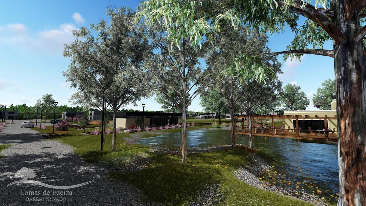 nuevo b° privado lomas de ezeiza - lotes de 700 a 1400 m2- anticipo y ctas
