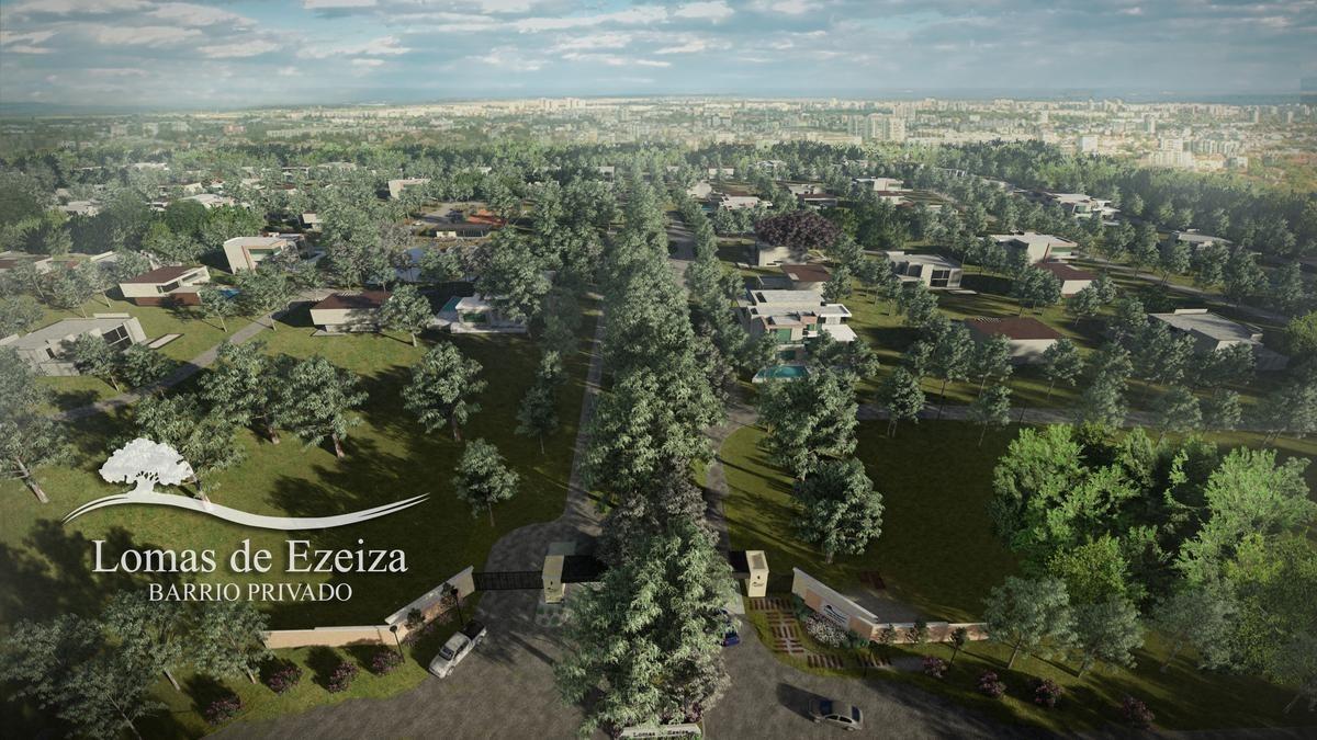 nuevo b° privado lomas de ezeiza -lotes de 700 a 1400m2- anticipo y cuotas en $$$$