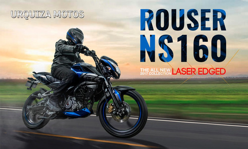 nuevo bajaj rouser ns 160 160ns laser edged hasta 30 cuotas