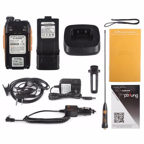nuevo baofeng gt-3tp mark iii 8 watts! el mejor!