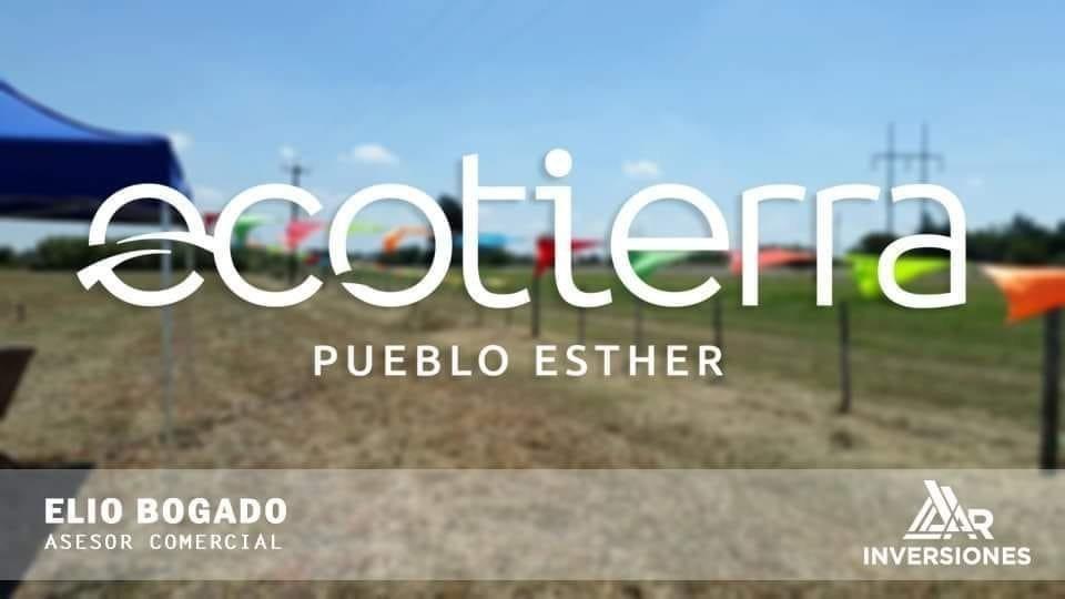 nuevo barrio abierto en pueblo esther - entrega + 36 cuotas en pesos
