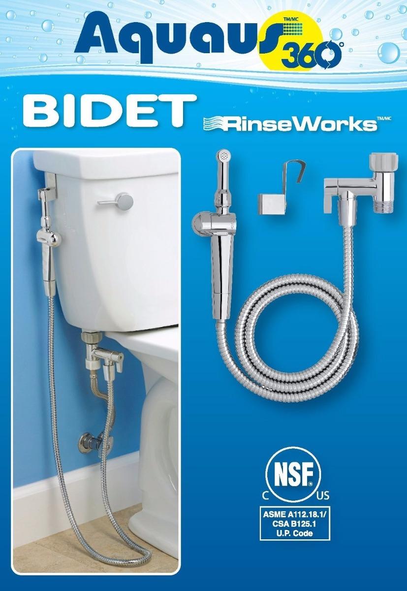 Nuevo bidet ducha de mano flexible para inodoro dual for Bidet para wc