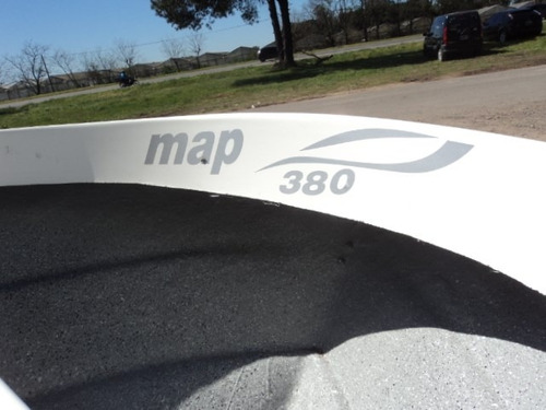nuevo bote map 3.80 !!! mas estable - sur nautica.com