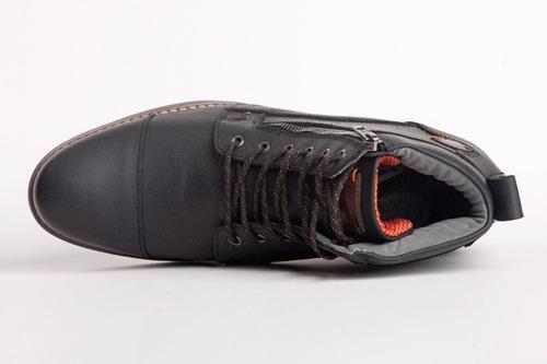 nuevo botin manantial negro 8cm de altura.
