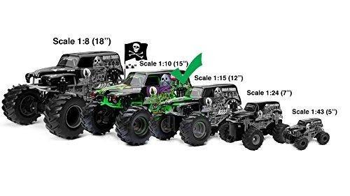 nuevo bright 61030g 9.6v monster jam grave digger rc car, !