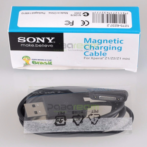 nuevo cable de carga magnético sony xperia z1 z2 z3 celular