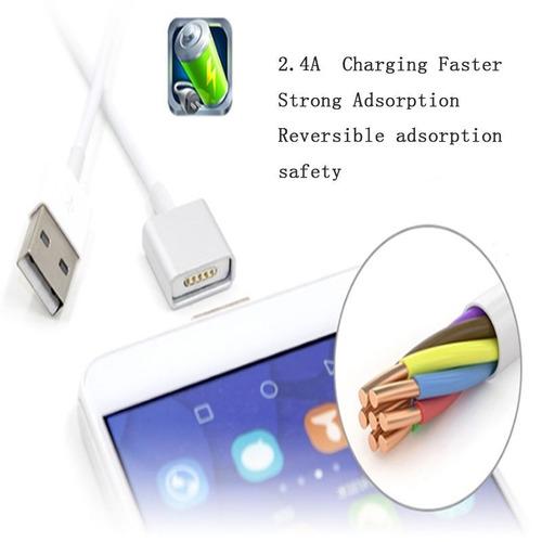 nuevo cable magnetico carga y datos samsung nokia aclatel