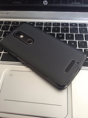 nuevo case mate huno + mica moto x force xt1580 turbo negro