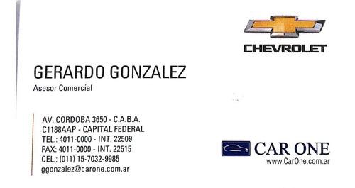 nuevo chevrolet onix 1.2 lt tech onstar  en stock car one aa