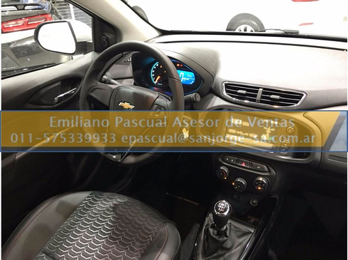 nuevo chevrolet onix ltz manual / automatico 1.4n ep