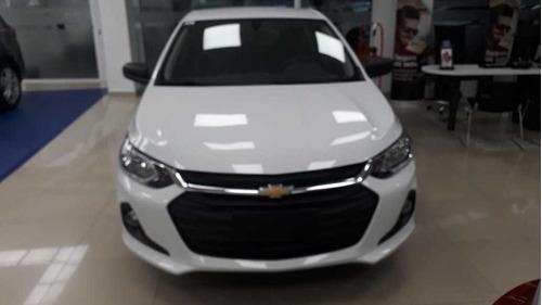 nuevo chevrolet onix plus 1.2 ls 4p sedan ex prisma aa