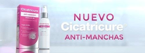 nuevo! cicatricure antimanchas crema con resorcinol x 50g
