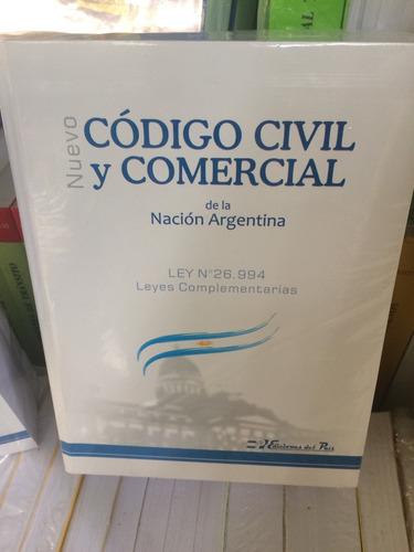 nuevo código civil y comercial 2018  ley 26994
