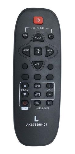 nuevo control remoto de reemplazo home theater akb73598401 p
