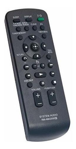 nuevo control remoto de reemplazo rm-amu008 apto para el sis