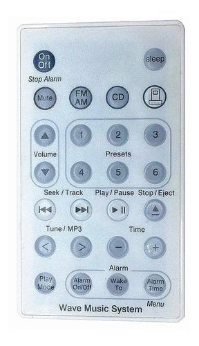 nuevo control remoto de repuesto para bose wave radio/cd mús