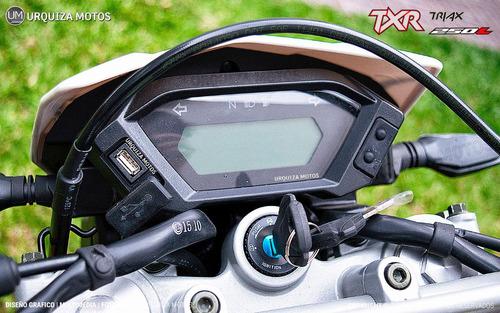 nuevo corven triax txr 250 l exclusivo moto 0km