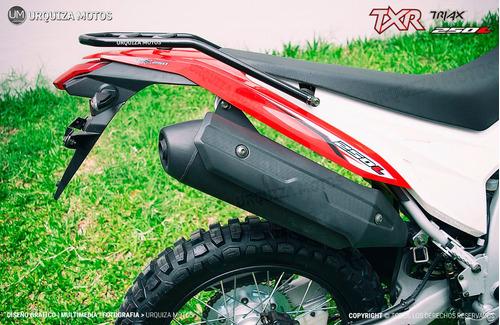 nuevo corven triax txr 250 l  moto 0km enduro